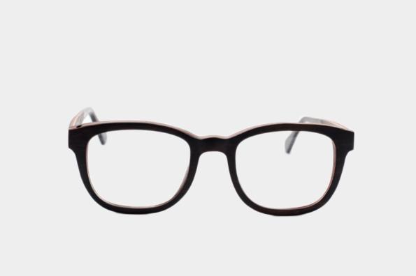 Dřevěné dioptrické brýle Athabasca