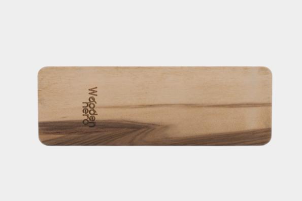 dřevěná záložka Woodenhero motiv noty, hudba